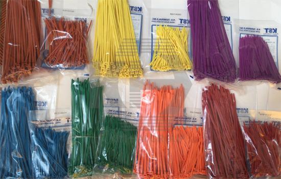 lạt nhựa nhiều màu